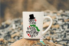 You are Worth Melting For SVG - Christmas SVG - Snowman SVG Product Image 3