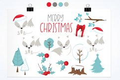 Winterland Fox graphics and illustrations Product Image 2