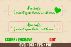 Love Keychains SVG Bundle Glowforge, Key Fob SVG design Product Image 2