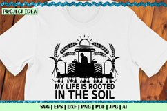 My life is rooted in the soil W | Farming | Tractor | Farmer Product Image 2