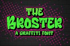 Broster - a Graffiti Font Product Image 1