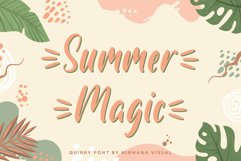 Summer Magic - a quirky font Product Image 1