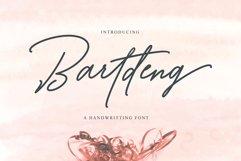 Bartdeng Handwritten Font | NEW Product Image 1