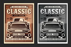 Classic Car Show Flyer Product Image 1