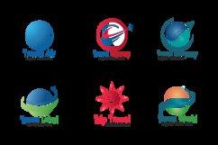 Travel logos set design. Product Image 2