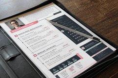Modern Editable Resume Cv Template in Word Apple Pages Product Image 4