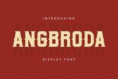 Web Font Angrboda Font Product Image 1