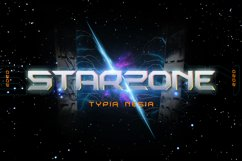 Starzone - SciFi Game Font Product Image 1
