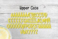 Web Font Lemon Drizzle Product Image 4