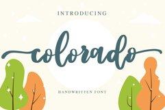 colorado - handwritten font Product Image 1