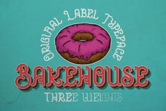 Bakehouse Label Font Product Image 1