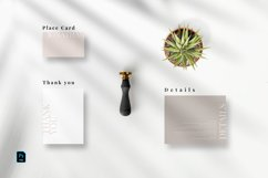 Minimal Modern Invitation Set Product Image 5
