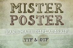 Mr Poster Font Product Image 1