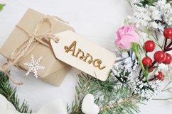 Santa Eskape| A cute swirly christmas font| Script Font Product Image 3