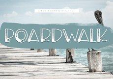 Boardwalk - A Fun Handwritten Font Product Image 1