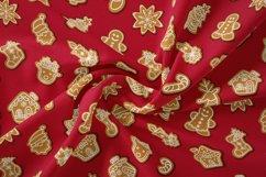 Christmas seamless pattern  Christmas digital paper Product Image 2