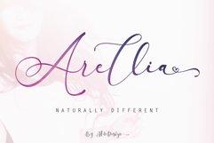 Arellia Script // Luxury Font Product Image 1