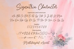 Signatria a Chic Letter Font Product Image 4