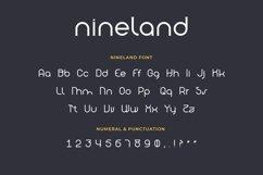 Nineland Modern Geometric Serif Font Product Image 2