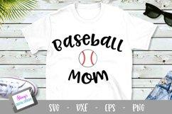 Baseball Mom SVG - Design 2 - Sports Mom SVG file Product Image 1