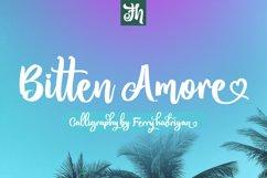 Bitten Amore - Script Font Product Image 1