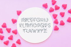 Candy Hearts Valentine Font Product Image 4