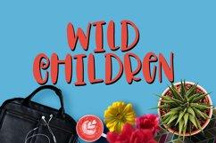Wild Children - Font  Product Image 1