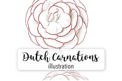 Carnation Clipart Flower Product Image 5