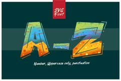 ROCK on RAWK   SVG Font Duo Product Image 5