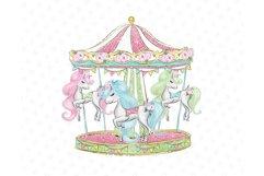 Circus clip art, Carneval illustrations, animal circus image Product Image 6