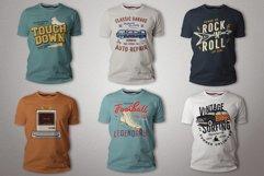 T-Shirt Designs Bundle SVG Retro Sublimation Pack. Part 1 Product Image 3