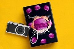 Macarons - Font and Extras / Cursive Font / Script Font / Product Image 2