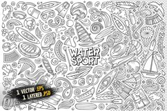 Water Sports Objects & Symbols Set Product Image 2