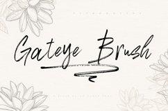 Gateye Brush Font Product Image 1