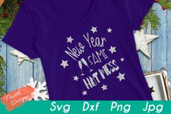 New Year - Same Hot Mess SVG Cut File Product Image 2