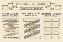 Flat Banner Creator for Illustrator Product Image 1