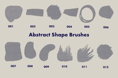 Abstract Stamp Brushes for Procreate - Shapes and Textures Product Image 2