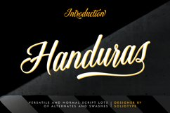 Handuras Script Product Image 1