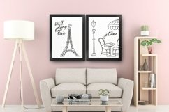 Paris Eiffel Tower Wall Art Printable Product Image 2