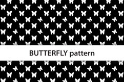 Seamless butterflies rainbow background Product Image 2