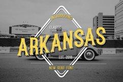 Web Font Arkansas Product Image 1