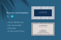 Editable Elegant Business Card Template Product Image 2