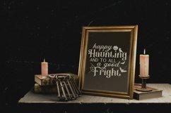 Vintage Halloween Signs Decor svg - halloween svg files png Product Image 4