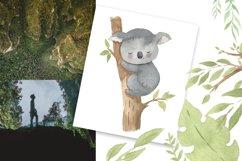 Koala clipart. Watercolor Australian animal clip art. Product Image 4