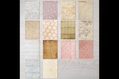 30 Folded Crumpled Antique Vintage Old Papers 8.5x11 Vol.3 Product Image 4