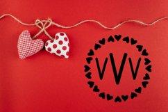 Love Letters - A Valentine Monogram Font Product Image 5