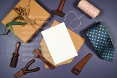 Father's Day Greeting Card SVG Craft Mockup Styled Photo Product Image 1