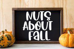 Happy Harvest - A Cute Hand-Lettered Fall Font Product Image 3