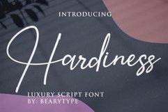 Hardiness -Luxury Script Product Image 1