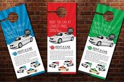 Rent A Car Door Hangers Product Image 3